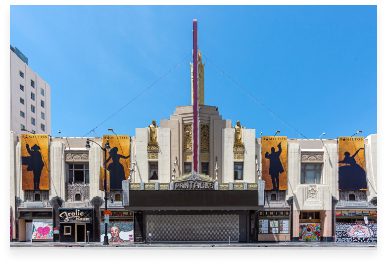 pantages theater in LA